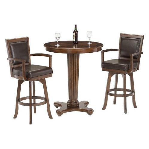 Hillsdale - Ambassador 3 Piece Indoor Pub Table Set