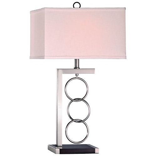 Antton Three Ring Metal Table Lamp