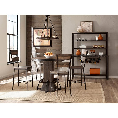 Hillsdale - Jennings 5 Piece Counter Height Dining Set with Stools