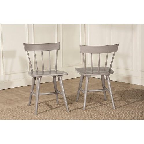 Hillsdale - Mayson Dining Collection Spindle Back Dining Chair (Set of 2)