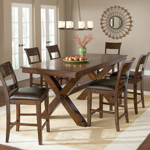 Hillsdale - Park Avenue 7 Piece Counter Height Dining Set