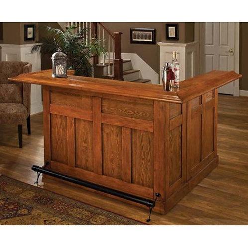 Hillsdale - Classic Oak Large Bar (+Side Bar)