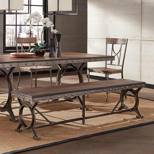 Hillsdale - Paddock Collection Dining Table Bench