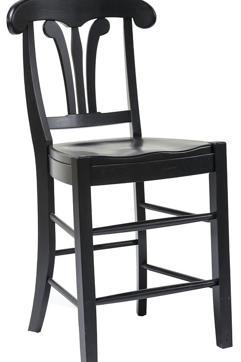 """Tennessee Enterprises - St. Michael Collection 24"""" Napolean Style Barstool"""