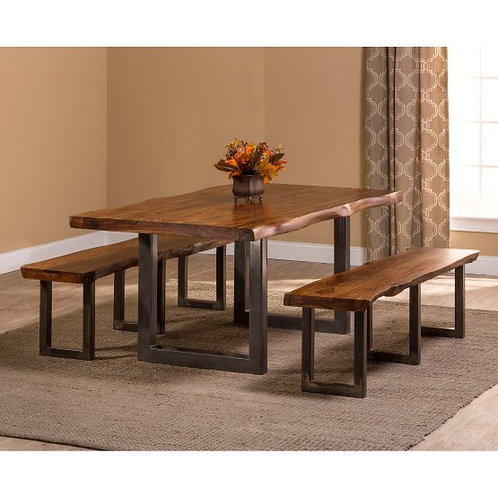 Hillsdale - Emerson 3 Piece Rectangle Dining Set