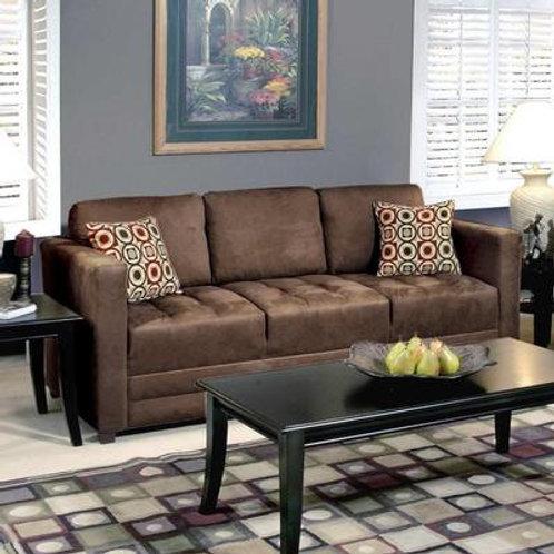 Serta Upholstery - Sienna Chocolate Sofa