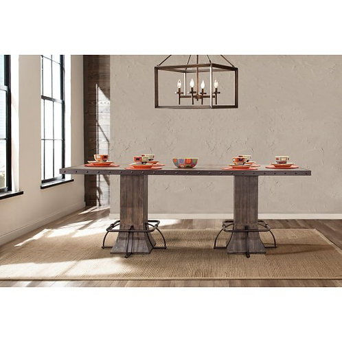 Hillsdale - Jennings Dining Collection Rectangle Counter Height Dining Table