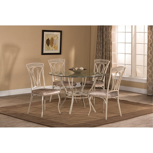 Hillsdale - Napier 5 Piece Round Dining Table Set