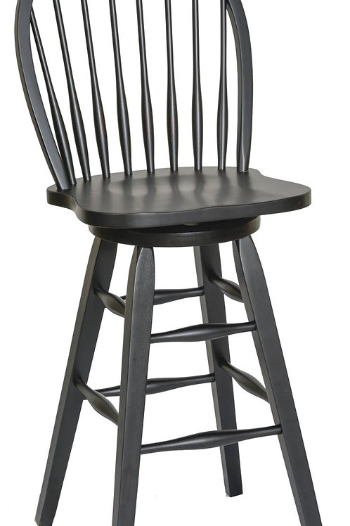 """Tennessee Enterprises- St. Michael Collection 30""""H Barstool"""