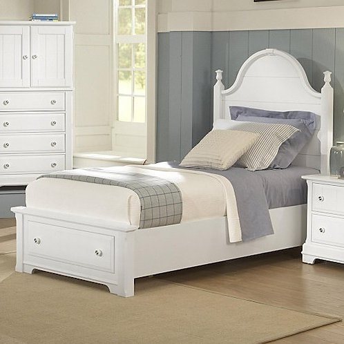 Vaughan Bassett - Cottage Collection Panel Storage Bed