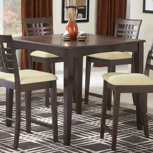 Hillsdale - Tiburon Dining Collection 40x40 Counter Height Fix Top Dining Table