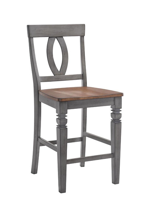 """Tennessee Enterprises - St. Pete Collection 24""""H Barstool"""
