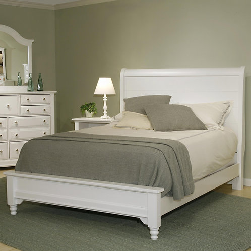Vaughan Bassett - Cottage Collection Sleigh Bed