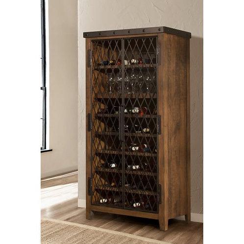 Hillsdale - Jennings Tall 42-Bottle Wine Cabinet