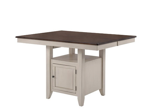 Tennessee Enterprises - St. Pete Collection Gathering Table w/ Storage Base