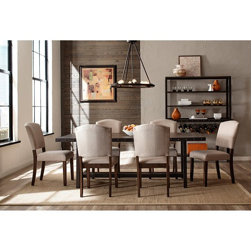 Hillsdale - Jennings 7 Piece Dining Set with Emerson Chairs