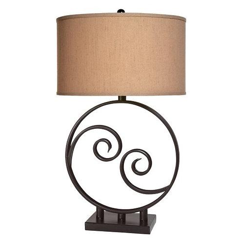 Swirly Table Lamp