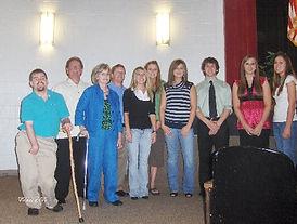 2008 Scholarship Recipients