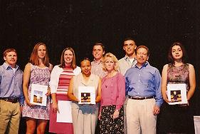 2001 Scholarship Recipients