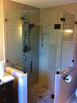 Neo Angle Frameless Shower Enclosure