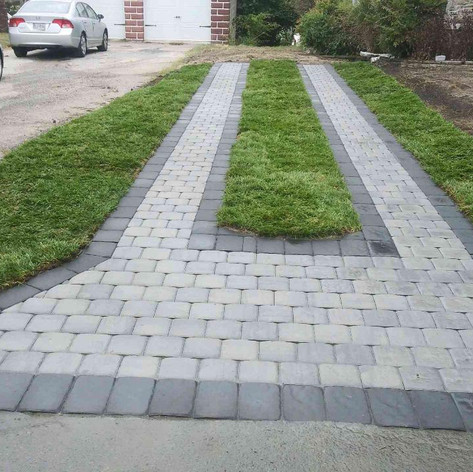 Ep Henry Cobble drive way