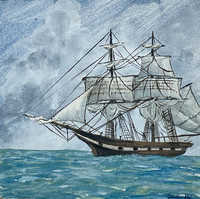 Ship Triptych - Port