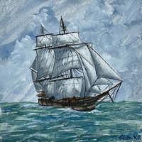 Ship Triptych - Starboard