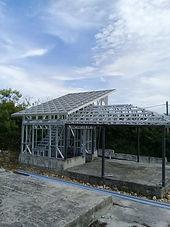 Fabrication charpente métallique Guadeloupe KMP SAS