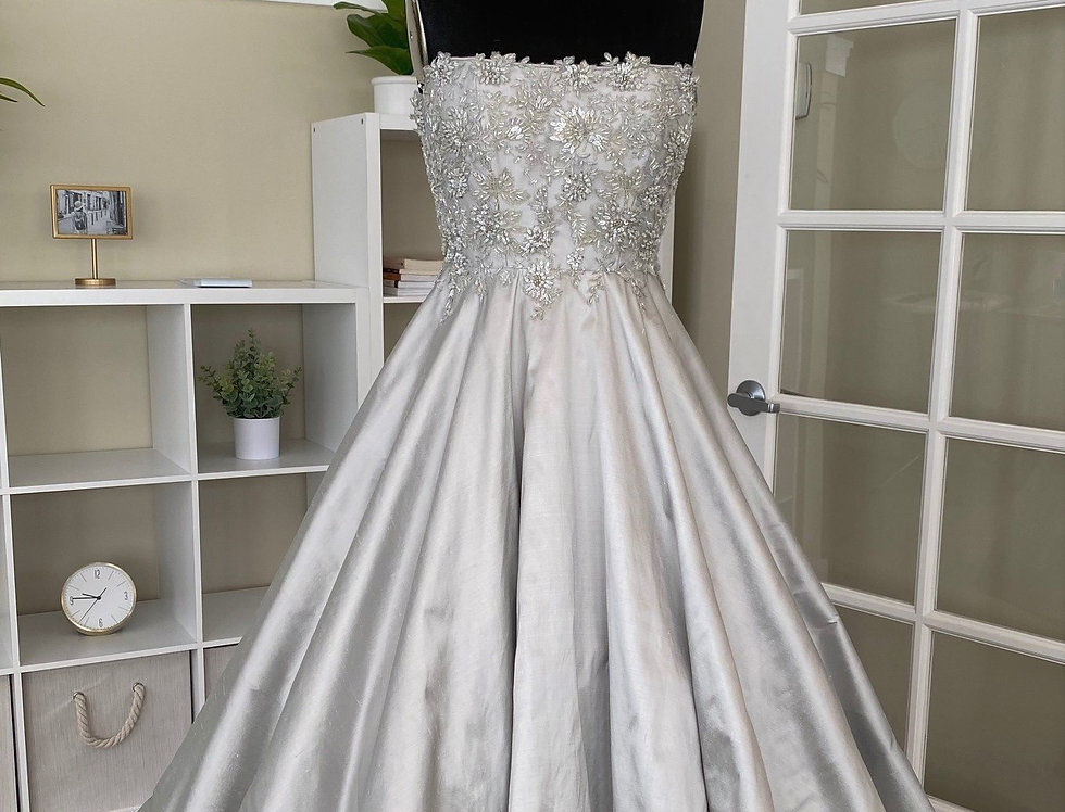 Silvery Moon Couture Dress