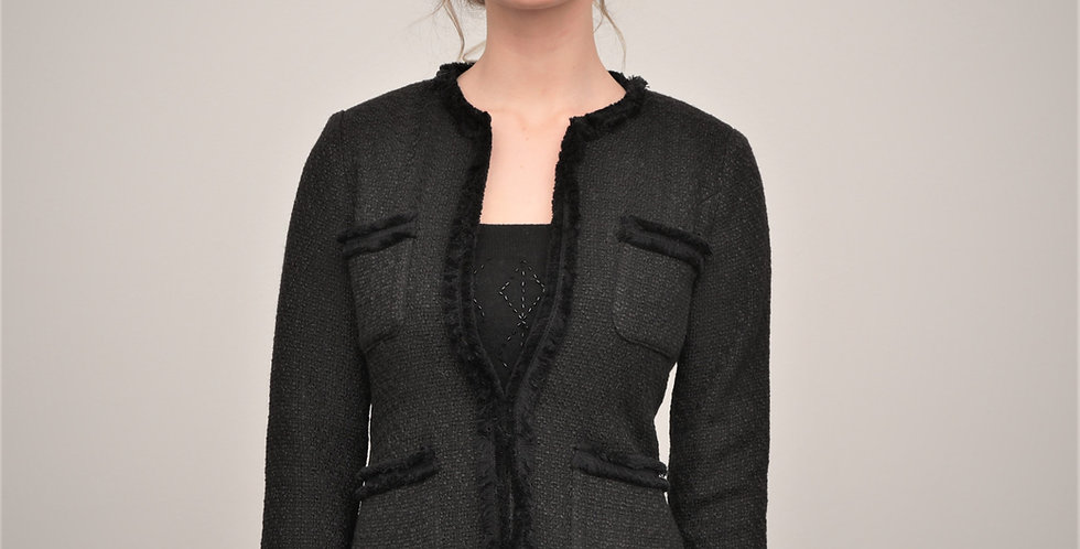Roxy Black Jacket from French Knot Couture