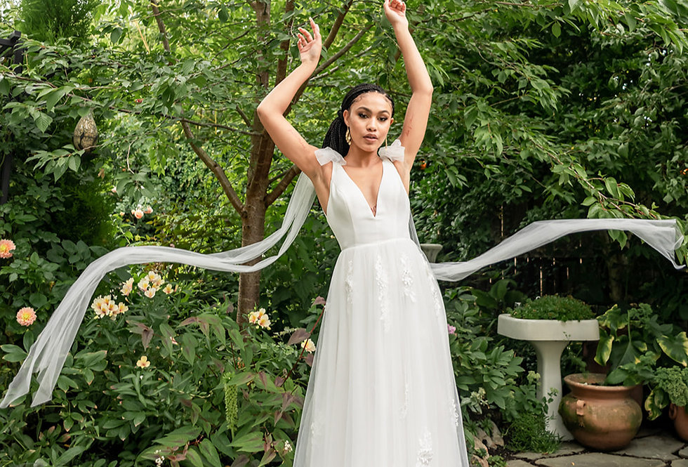 San Juan Gown Ivory