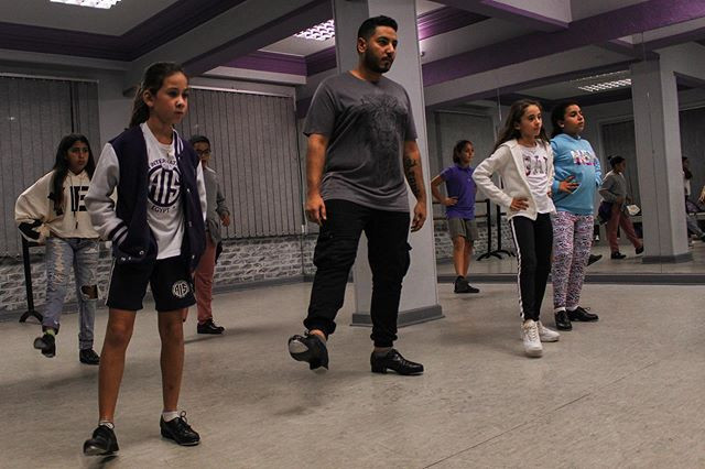 Tap dance classes with the one and only