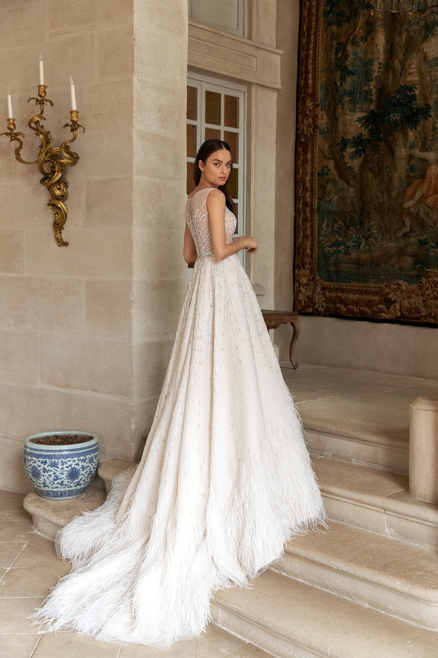Featheriness Gown