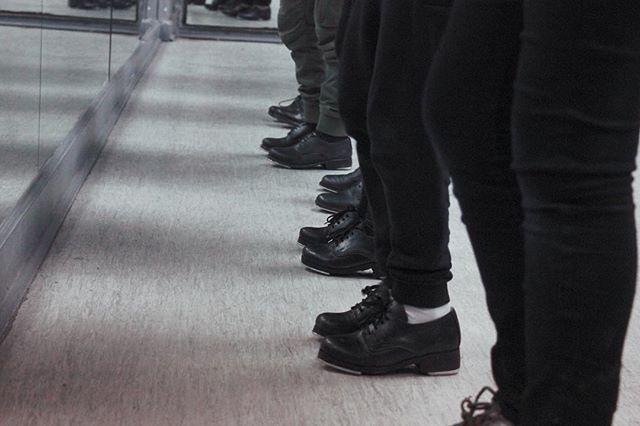 Heel, heel, toe, toe, shuffle , ball cha