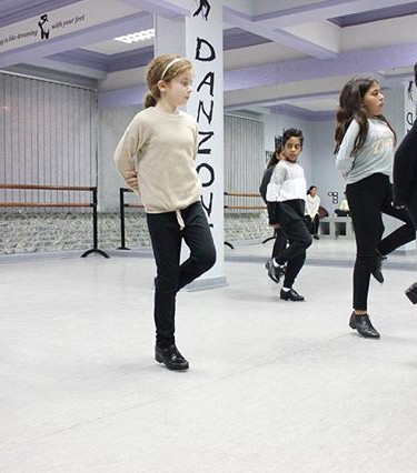 Our young tappers. #tapdance #danzone #d