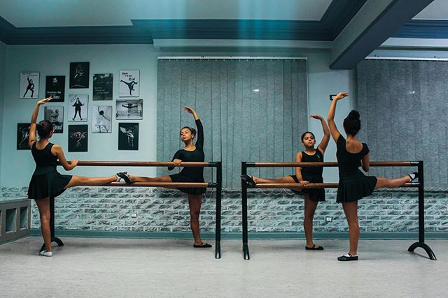 One of our favorite ballet classes taugh