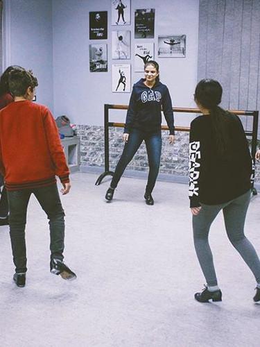 Tap circle 🕺🏽 #dance #tapdance #danzon
