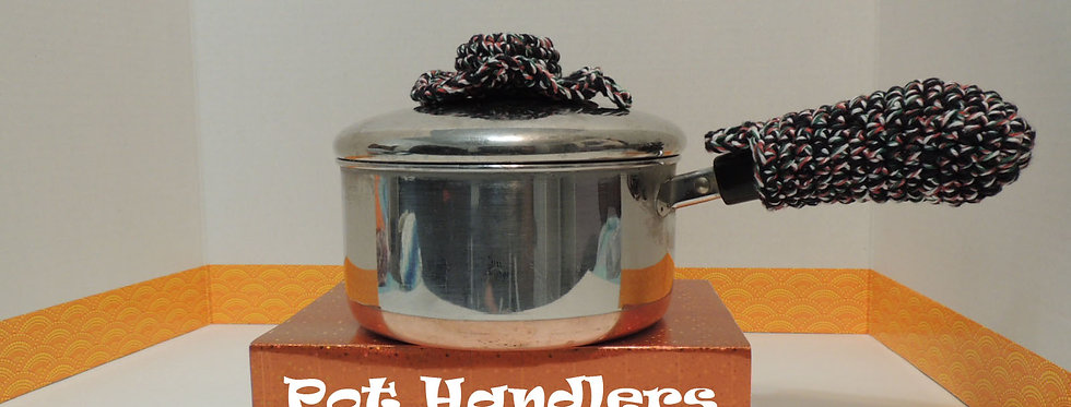 PDF DIGITAL PATTERN: Pot Handlers Pattern, Crochet Pot Handle Cover Pattern, Cro