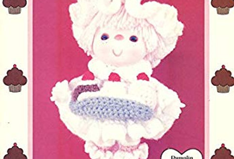 Banana Split - Crochet Doll - Cupcake Corner - Dumplin Designs