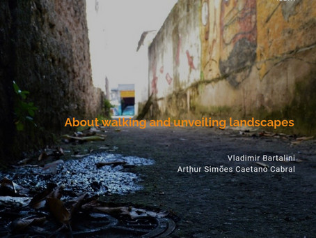 About walking and unveiling landscapes