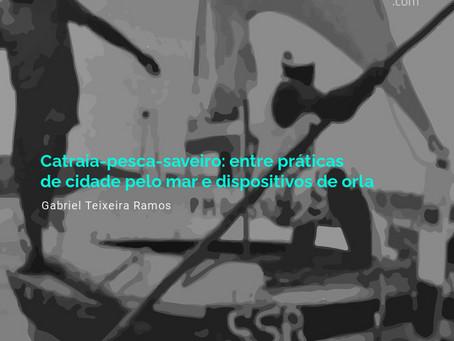 Catraia-pesca-saveiro: entre práticas de cidade pelo mar e dispositivos de orla