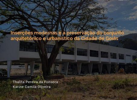 Inserções modernas e a preservação do conjunto arquitetônico e urbanístico da Cidade de Goiás