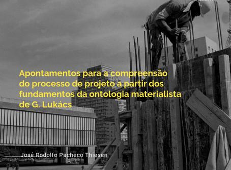 Apontamentos para a compreensão do processo de projeto [...]