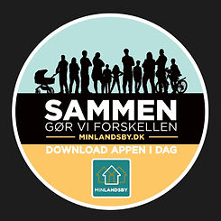 Designlinje til Min Landsby - Sammen gør vi forskellen