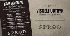 Restaurant Sprød - Designlinje