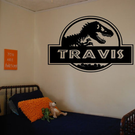 Jurassic Park Wall Decal