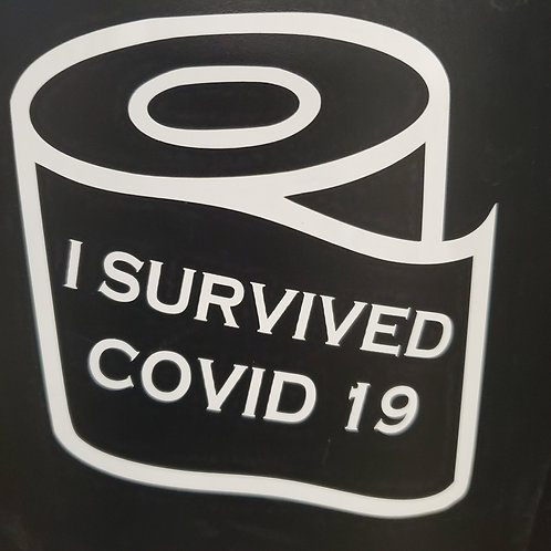 I Survived Covid19 decal