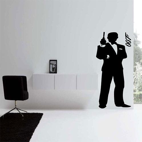 James Bond 007 Wall Decal