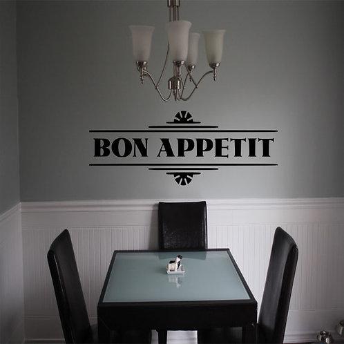 Bon Appetite Wall Decal