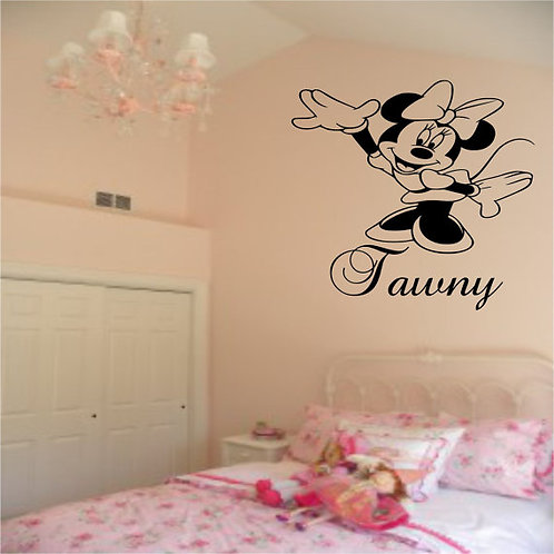 Minnie Mouse Wall Decal
